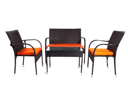 Bahama patio set