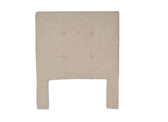 noah headboard (single taupe)