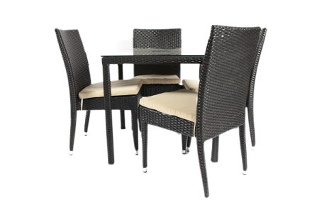 Huron dining set (5 piece)