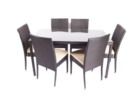 huron dining set (7 piece)