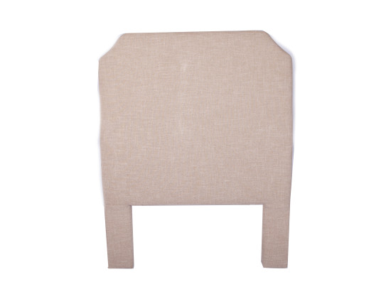 faye headboard (single Taupe)