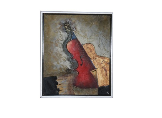 Abstract guitar (print 23)