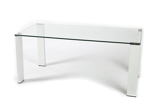 Arca coffee table (white legs)