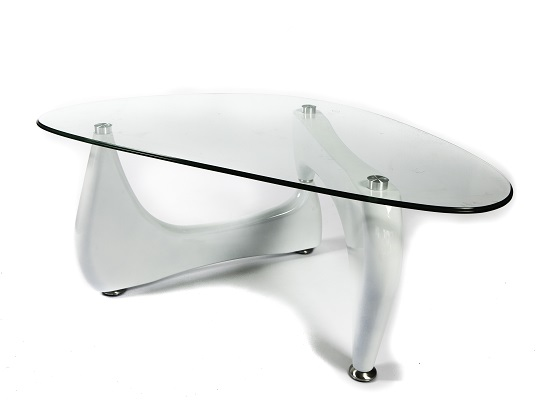 Noguchi coffee table (white)