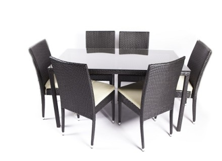 huron dining set (7 piece)