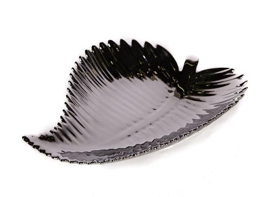 silver leaf plate (tr 18)