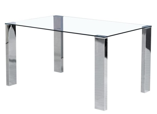 arca dining table (chrome legs)