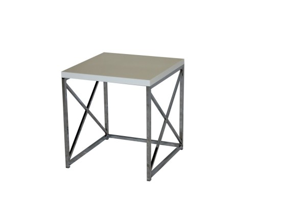 City White End Table (large)