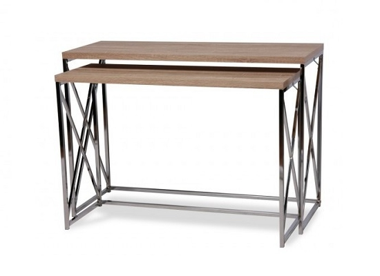 City Natural Console Set