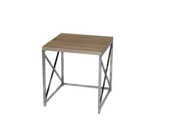 City Natural End Table (small)