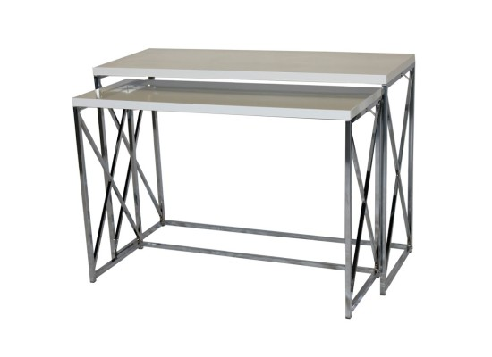 City White Console Set