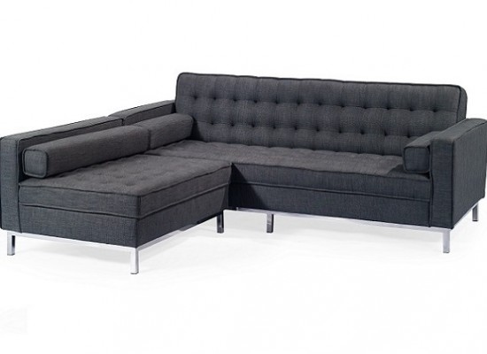 Amira sectional (dark grey)