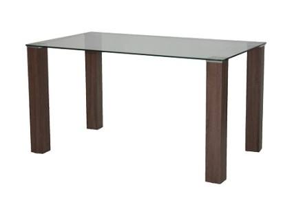 tano dining table (dark wood)