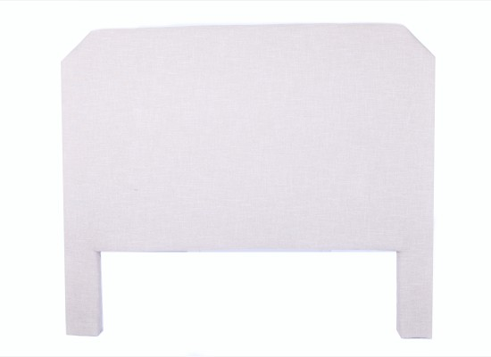 faye headboard (queen beige)