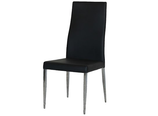 Liam dining chair (black)