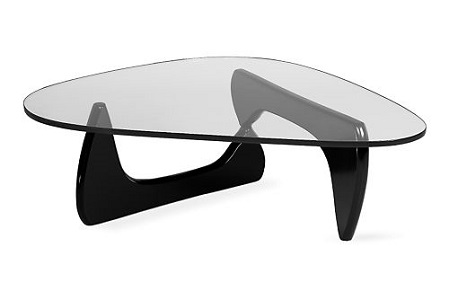 Noguchi coffee table (black)