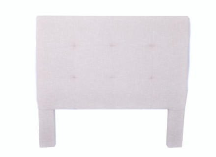 noah headboard (double beige)