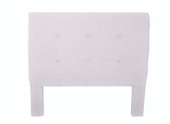 Noah headboard (queen beige)