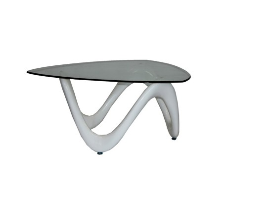 Ocean coffee table (white)