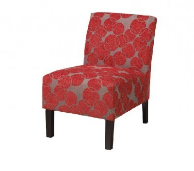 Red Accent Chair
