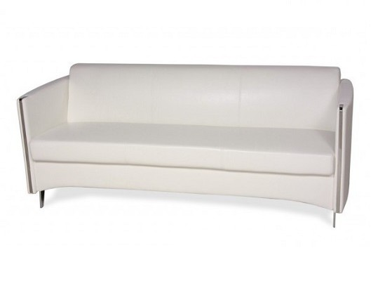 Studio Sofa (white leather)