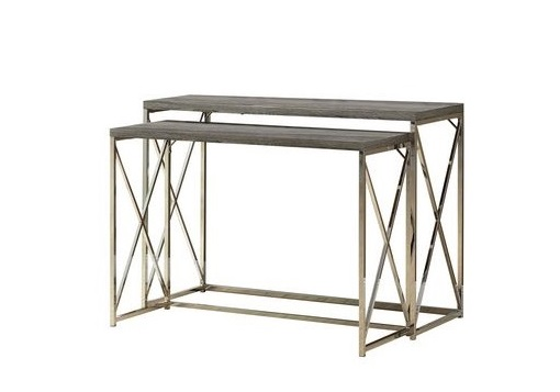 City Taupe Console Set