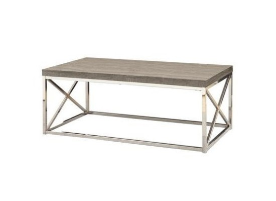 City Taupe Coffee Table