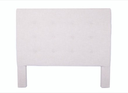 tempo headboard (queen beige)