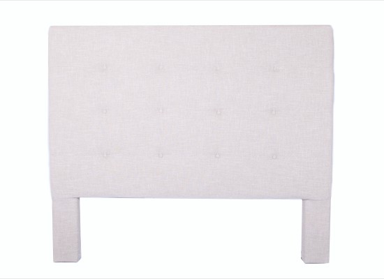 tempo headboard (king beige)