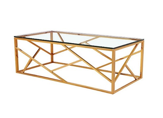 Paris Gold Coffee Table