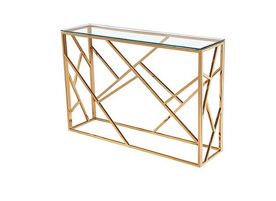 Paris Gold Console Table