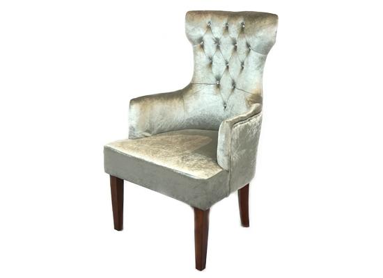 Queen accent chair (grey)