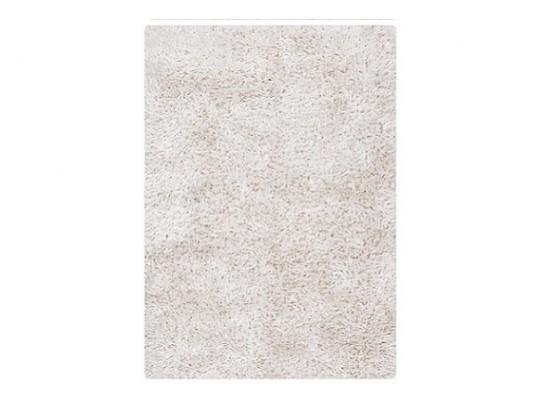 white shag RUG 7 x 10 (R 163)