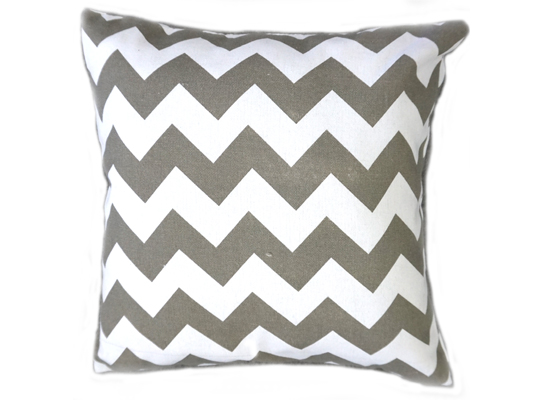 Zig Zag Grey Pillow (PLL 41)