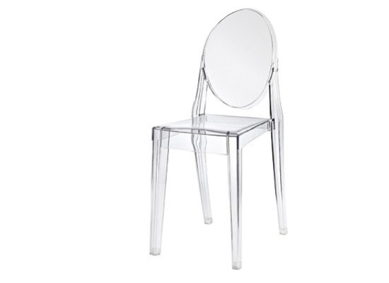 Armless Ghost Chair (transparent)