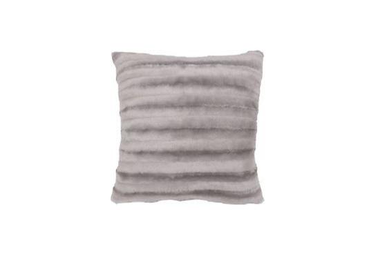 Faux Fur Grey Pillow (PLL 18)