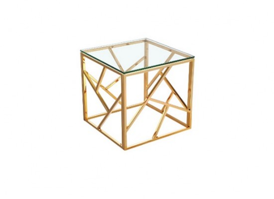 Paris Gold End Table
