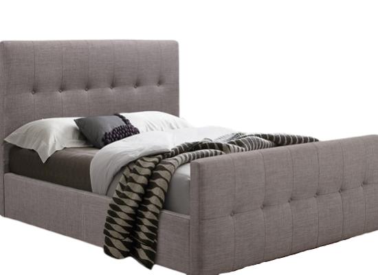 Ash full bed ( Queen grey)