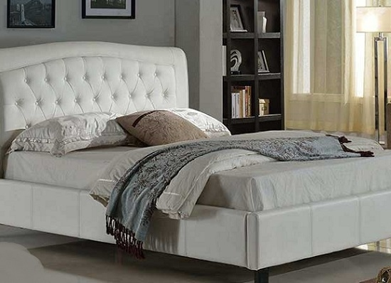 Poise full Bed (queen white)