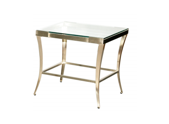 Poise End Table (silver)