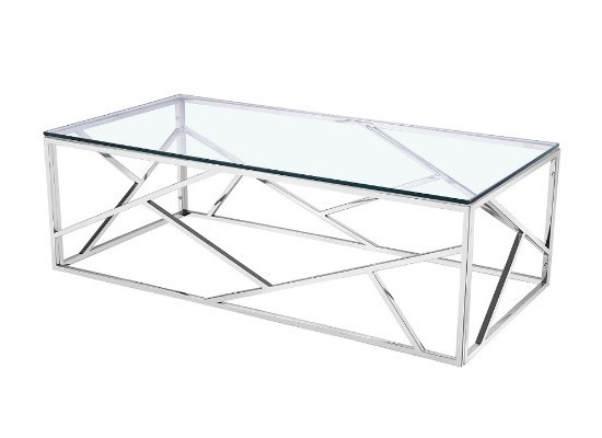 Paris Silver Coffee Table