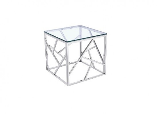 Paris Silver End Table