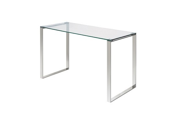 Glass Desk (Silver)