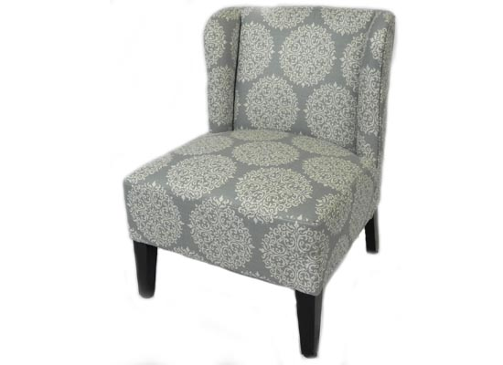 Crystal Accent Chair (blue)