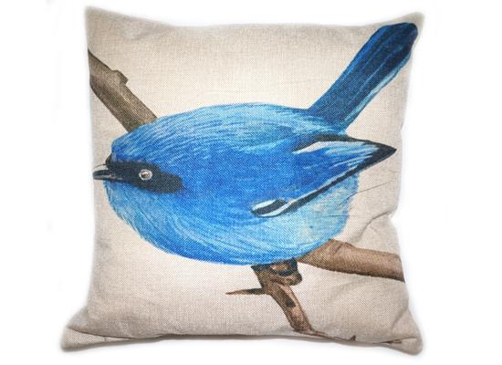 Blue Bird Pillow (PLL 27)