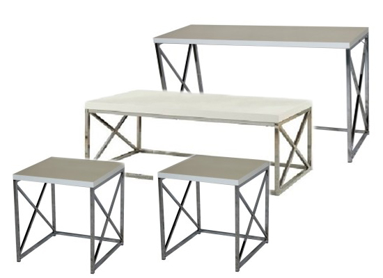 City white coffee table set