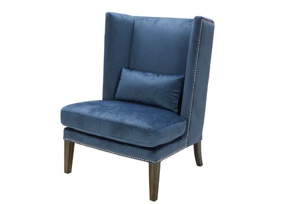 Gemini Accent Chair (Ink Blue)