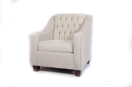 Roma Armchair (Tiffany Grey)