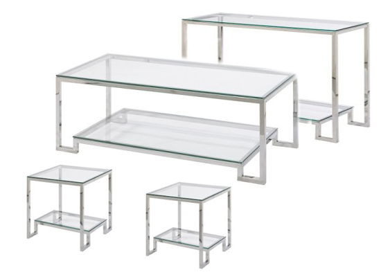 milo coffee table set