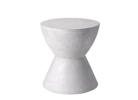 Rocco End Table (White)